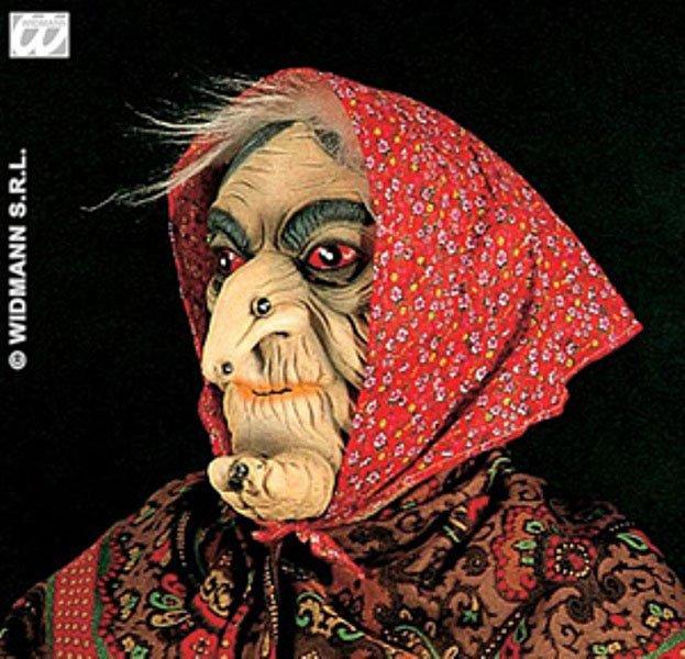 40293ddc7 Maska čarodějnice šátek červený - čarodějnice - čarodějnice - masky | masky  - masky - dospělí - Karneval masky a kostýmy, halloween, čarodějnice