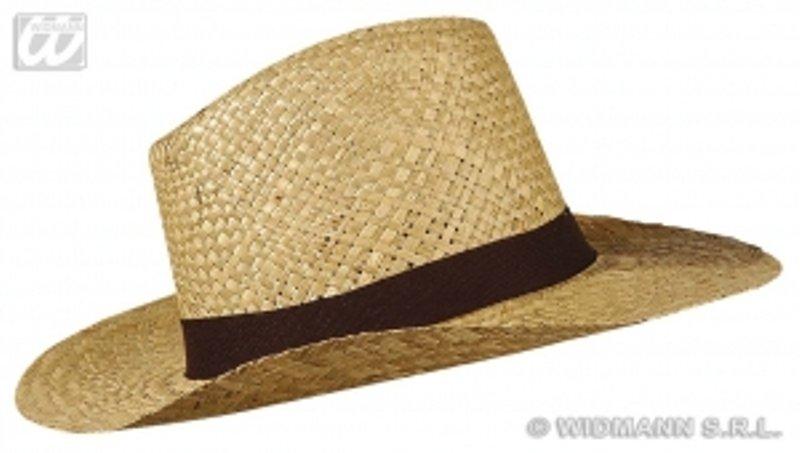 Safari klobouk slamák černá stuha - klobouky 222a9552a2