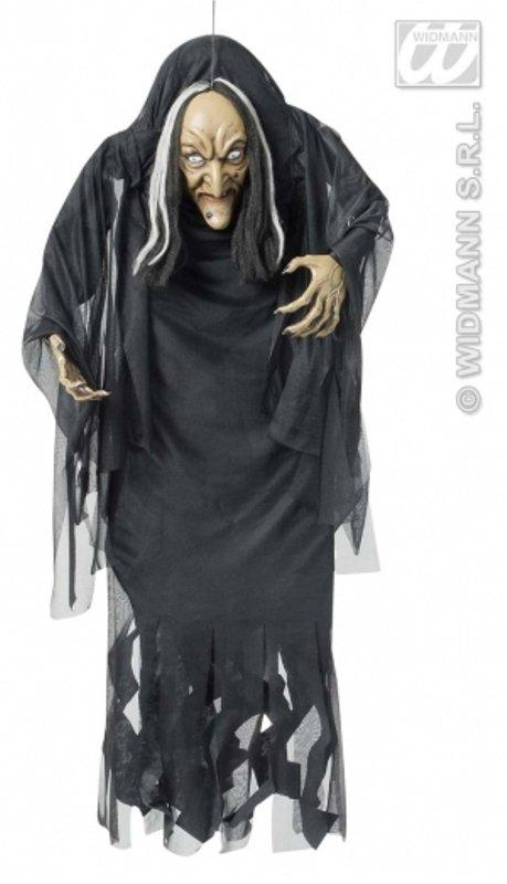 4f2ddc2ba Dekorace Čarodějnice hrbatá 140 cm - čarodějnice - čarodejnice dekorace |  halloween - dekorace na halloween - Karneval masky a kostýmy, halloween, ...