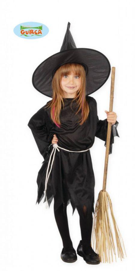 e23a6dd29 Dětský kostým čarodějnice, 4 - 6 let - čarodějnice - čarodějnické ...