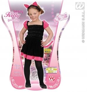 Karnevalový kostým pro děti ve věku 2-3 let. Kostým kočička obsahuje šaty a  ouška na sponě. 48c39a9810d